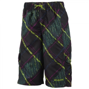 Columbia Boy ' S Youth Wake N Wave Boardshort - Black