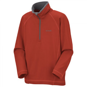 Columbia Youth Boys Tech Racer 1 / 4 Zip Performance Top - Flame