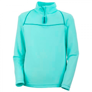 Columbia Girl ' S Youth Sweet Creek 1 / 2 Zip - Gulf Stream
