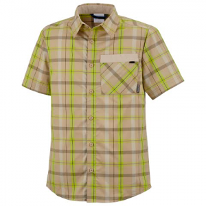 Columbia Youth Boys Silver Ridge Plaid Short Sleeve Shirt - Twill Plaid