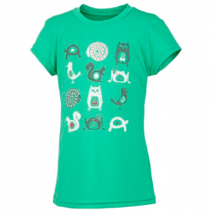 Columbia Girl ' S Farewell City Tee - Winter Green
