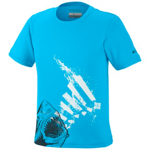 Columbia Youth Boy ' S Adventureland Ii Graphic Tee - Riptide