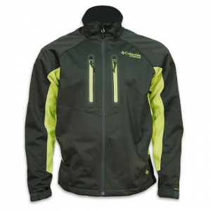 Columbia Mens Fleece Fusion Jacket - Dark Moss