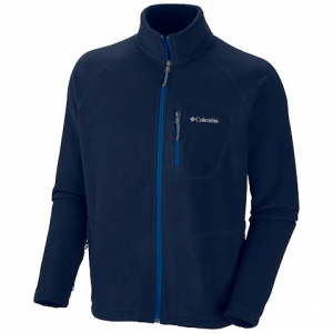 Columbia Mens Fast Trek Ii Full Zip Fleece ( Plus Sizes ) - Collegiate Navy