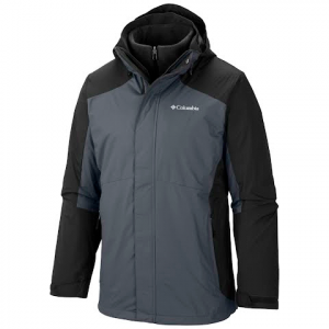 Columbia Men ' S Eager Air Interchange Jacket ( Lt - 4x ) - Black