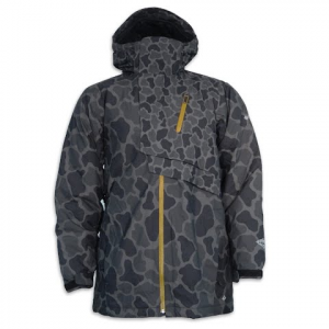 Columbia Men ' S Pioneer Punk Jacket - Black Camo