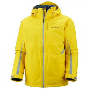 Columbia Men ' S Dynamic Blur Jacket - Yellow Curry