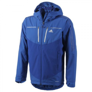 Adidas Outdoor Mens Terrex Swift Swiftice Jacket - Blue Beauty