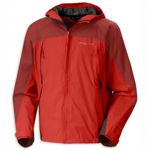 Columbia Mens Granite Tors Shell Jacket - Sail Red