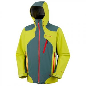 Columbia Mens Compounder Shell Jacket - Chartreuse