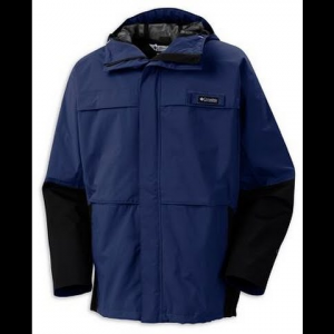 Columbia Mens Long Run Jacket - Cousteau