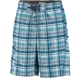 Columbia Men ' S Ripple Mark Board Short - Eucalyptus