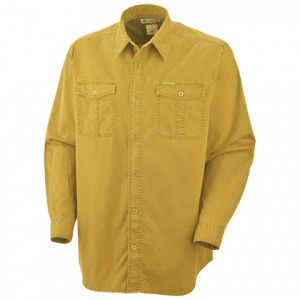 Columbia Men ' S Saddle Peak Long Sleeve Shirt - Pilsner