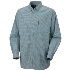 Columbia Men ' S Weston Pass Plaid Shirt - Deep Teal