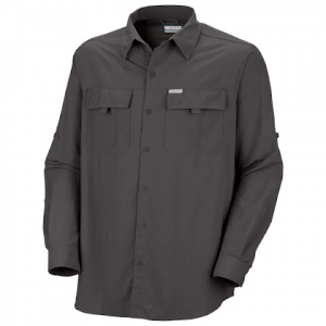 Columbia Mens Silver Ridge Long Sleeve Shirt - Blade