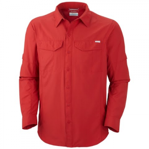 Columbia Men ' S Silver Ridge Long Sleeve - Palm