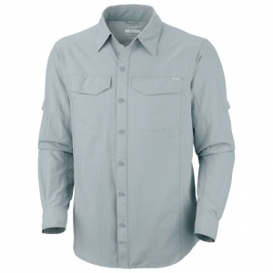 Columbia Mens Silver Ridge Long Sleeve Shirt - Sedona Sage