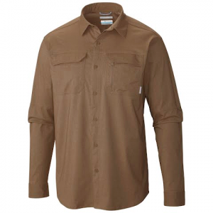 Columbia Mens Royce Peak Ii Long Sleeve Shirt - Wet Sand