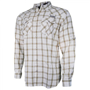 Columbia Mens Pfg Beadhead Long Sleeve Shirt - Stinger Plaid