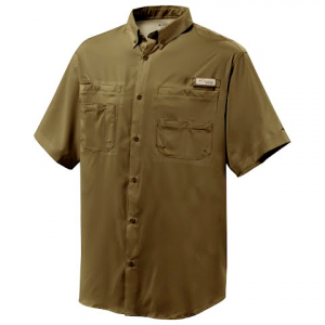 Columbia Mens Tamiami Ii Short Sleeve Shirt - Bronze