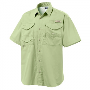 Columbia Bonehead Short Sleeve Shirt ( Tall Sizes ) - Coolant