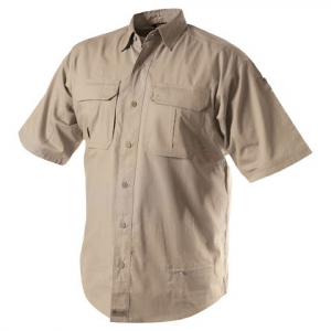 Blackhawk Men ' S Lightweight Tactical Short Sleeve - Khaki