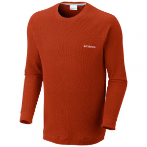 Columbia Men ' S Olstad Crew Long Sleeve - Sanguine