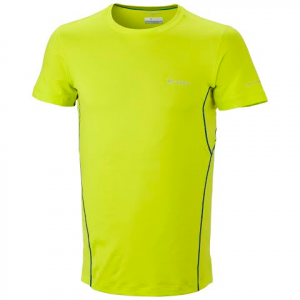 Columbia Men ' S Coolest Cool Short Sleeve Tee - Radiation