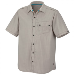 Columbia Mens City Scape Short Sleeve Shirt - Tusk