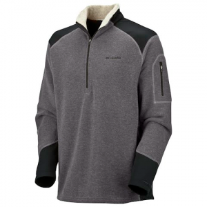Columbia Men ' S Turnout Sweater - Charcoal