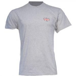 Columbia Men ' S Pfg Hard To Fear Tee - Heather Grey