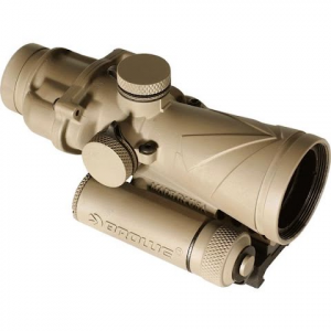 Browe Optics 4x32 Bco Fde With Green . 300 Blackout Horseshoe And Dot Reticle , Arms Mount
