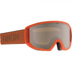 Anon Men ' S Relapse Goggle - Swerve / Silver Amber