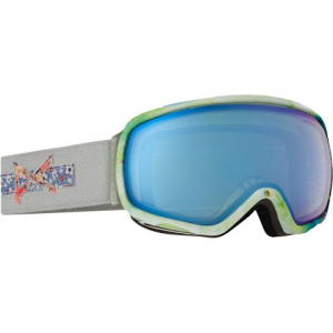 Anon Women ' S Tempest Goggle - Crafty / Blue Lagoon