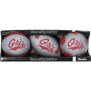 Baden Sports University Of Montana Griz Future Superstar 3 - Ball Set