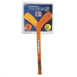 Franklin Nhl Mini Hockey Player Stick / Ball Set
