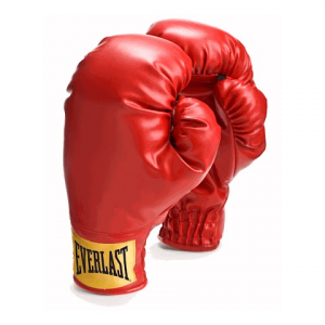 Everlast Laceless Traditional Style Boxing Gloves - Red