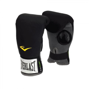 Everlast Neoprene Heavy Bag Boxing Gloves - Black