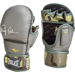 Everlast Mma Randy Couture Striking Gloves - Grey / Camo