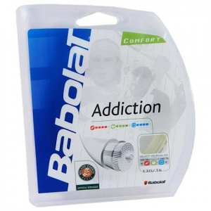 Babolat Addiction 130 / 16 Racket String - Natural