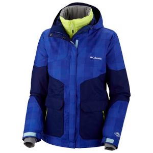 Columbia Women ' S Parallel Peak Interchange Jacket - Light Grape