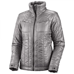 Columbia Women ' S Tech Trekker Jacket - Light Grey