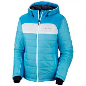 Columbia Women ' S Shimmer Flash Jacket - Riptide