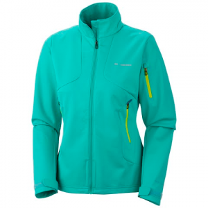 Columbia Women ' S Millon Air Softshell Jacket - Glaze Green