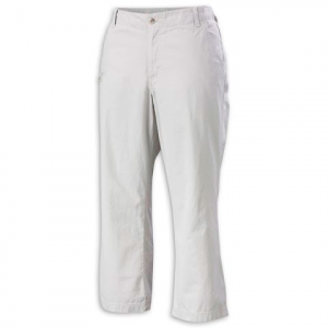 Columbia Women ' S Edgewater Chino - Stone