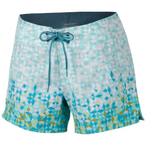 Columbia Women ' S Drainmaker Short - Clear Blue