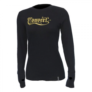 Columbia Women ' S Convert Thermal Long Sleeve T - Shirt - Black