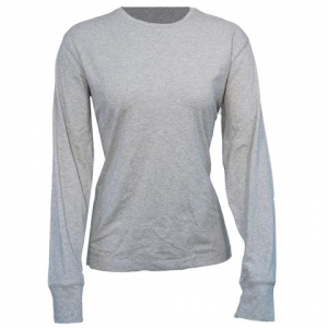 Columbia Women ' S Greenway T Long Sleeve Tee - Grey / Heather