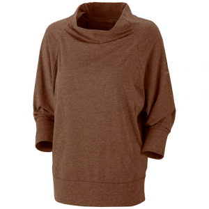 Columbia Women ' S Knotty Trail 3 / 4 Sleeve - Brownstone