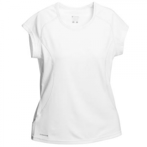 Columbia Women ' S Fast Packer S / S Tee - White